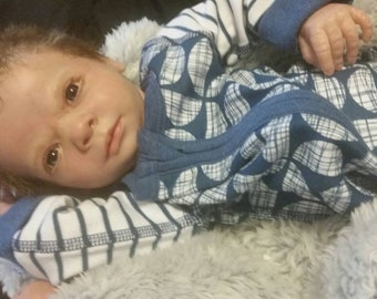 Made to order, Lifelike boy reborn, realistic reborn, lifelike reborn baby, reborn doll
