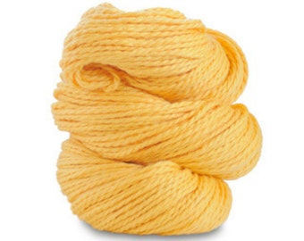 Organic Cotton Yarn Worsted, 150 Yards, Dandelion