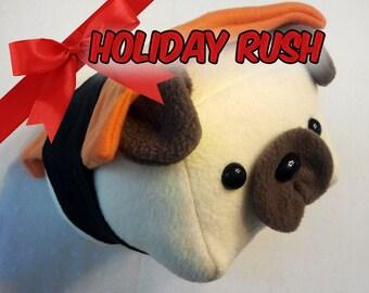 RUSH Sushi Pug (Choose your Topping)