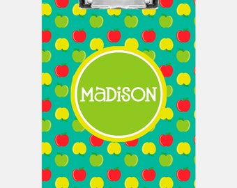 Apples Clipboard | Personalized Clipboard | Teacher Clipboard | School Clipboard