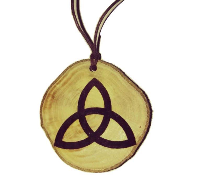 Celtic Triangle Trinity Knot Triquetra Symbol Neo Pagan Celtic