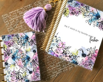 Original Stylish Planner™ Cover Set - Lilac: For use with Erin Condren Life Planner(TM), Happy Planner and Recollections Planner