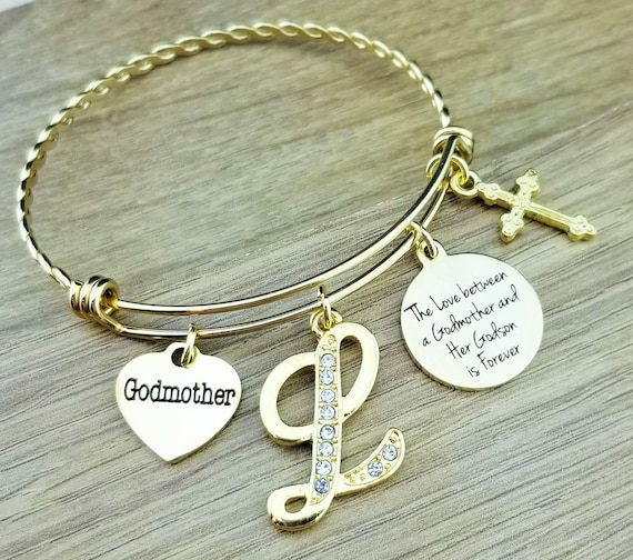 fairy godmother you gift jewelry communion thank com goddaughter b dp amazon maofaed first bracelet