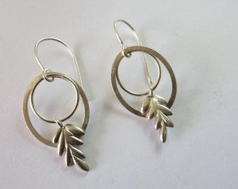 Boucles d'oreilles Epis de blé