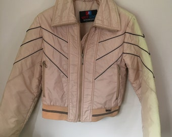 Awesome 70s White Stag Ski Jacket Size Small