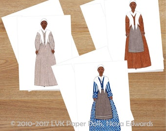 Set of Six Blank Greeting Cards Sojourner Truth Black History Art African American Greeting Card Set Printed Greeting Cards