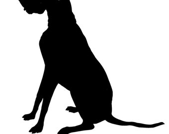 special listing Custom Pet Silhouette (not a print)