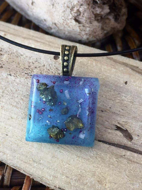 Secret Techings Orgone chganneling Necklace