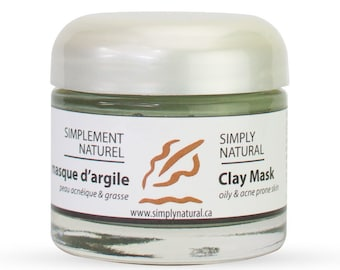 Clay Mask - For Oily and Acne Skin Types