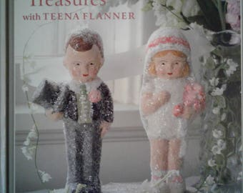 Book: Paper Mache Treasures Teena Flanner How to create Vintage style Collectibles