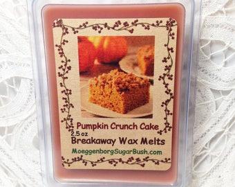 Wax Melts, Pumpkin Crunch Cake, Pumpkin Cake, Bakery Scent, Rich buttery cake, MoeggenborgSugarBush, candle melts