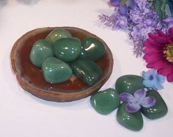 Large Green Aventurine Crystal.