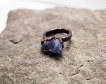 Tanzanite Electroformed Ring