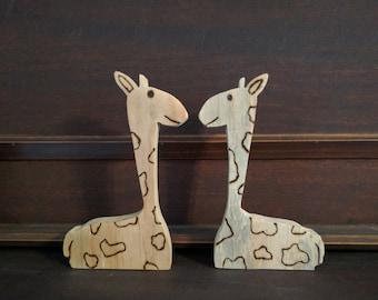 Wooden Giraffe Toy
