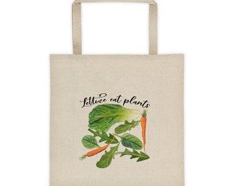 Lettuce Eat Plants Tote bag