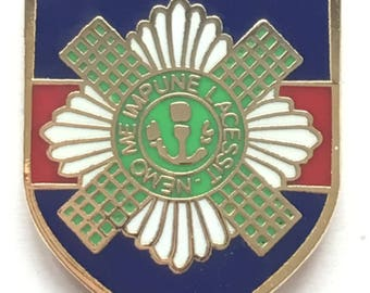 Scots Guards Regiment Military British - MOD Approved Army Enamel Pin Badge
