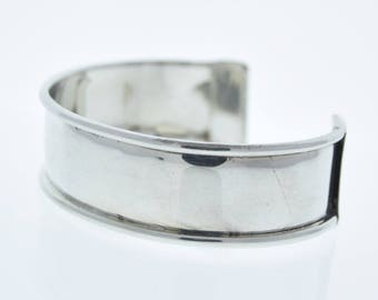 """Cuff Bracelet for Embellishment, Channel for adding art or other media , .75"""" channel  sold by each J867S"""
