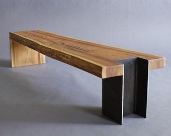 10x42 Bench   Live Edge Cedar
