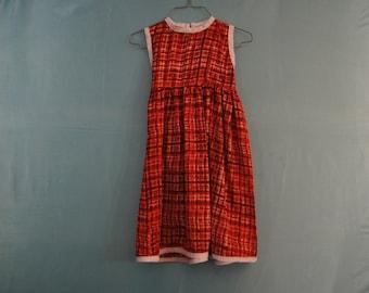 Dress , Girls dress,Red dress,Child  Clothing ,