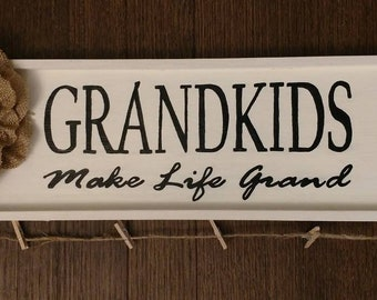 Grandkids Wall Decor
