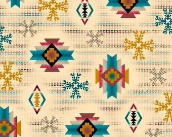 Quilting Treasures - Laredo by Studio 8 - Diamond Aztec
