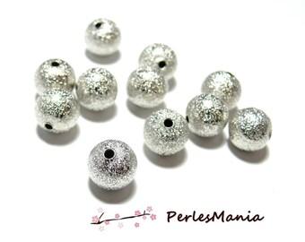 300 P247 granitees sequins 4mm bright silver stardust, DIY spacer beads