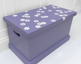 Purple Daisy Toy Box