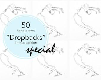 Yoga Art - Limited Edition - 50 Dropbacks