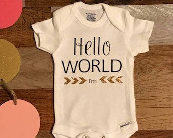 Hello World I'm (Name)