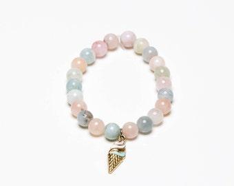 Rainbow Quartz Ice Cream Bracelet