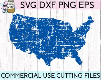 American map svg Etsy