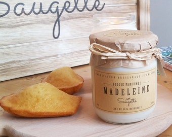 Madeleine - Handcrafted scented soy wax candle