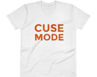 Cuse Mode T-Shirt | Syracuse V-Neck T-Shirt