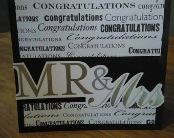 Mr and Mrs. Greeting Card