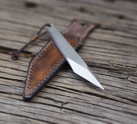 What Does A Carving Knife Look Like: Mini Kiridashi EDC Knife Neck Knife Carving Knife