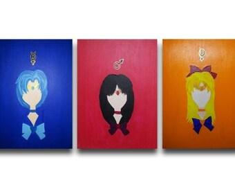 Sailor Moon - Familiar Faces Series