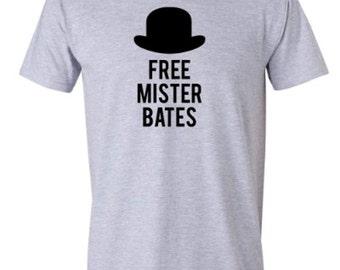 Free Mister Bates Tee | Adult Mr. Bates Downton Style T-shirt