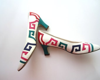 1980s Geometric Pumps - Size 8M