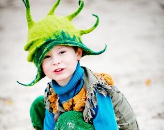 Dragon hat / Pixie hat