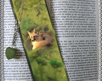 """Plastified bookmark """"Ode to nature"""""""