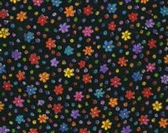 Laurel Burch Fanciful Felines OOP Fabric #90347-1