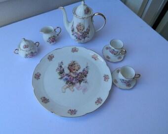 10 Piece Doll Tea Set