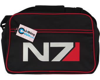 Mass Effect Andromeda N7 Logo Gaming Shoulder Ps4 Xbox Video Game Bag