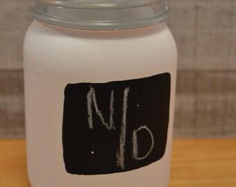 Chalkboard Mason Jar