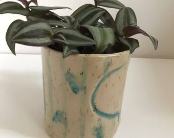 Ceramic planter, plant lover gift