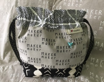 The Maker Knitting Project Bag