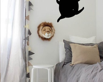 Wall Decal Buddy Bear| Nursery Art | Vinyl Decal for Kids | Wall Sticker | Home Decor Decals | Cute Illustration Decal | Vinyl Decor