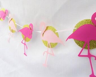 Flamingo Banner | Flamingle Banner |  Flamingo Party Decor | Let's Flamingle Banner | Flamingle Party Decorations | Flamingo Birthday | Luau