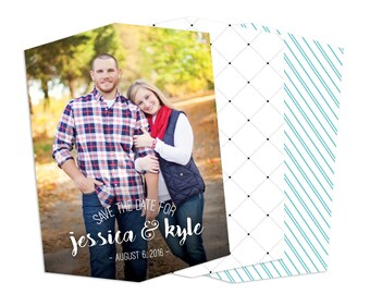 Country Script - Boutique Save the Date Card (25 pack)