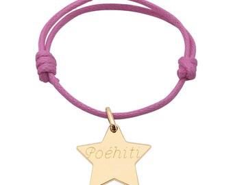 Aangepaste armband ster